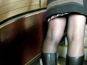 black pantyhose in metro