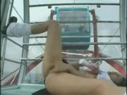 WEBCAM - japanese girl nudity masturbating in Ferris wheel