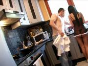 Smoking hot maid gets pounded by stud in a dungeon