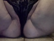 Pantie play & multiple squirting