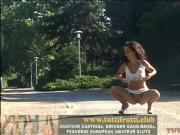 beauty euro amateur naked on public
