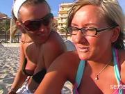 Wenn die Fotzen auf Mallorca Geil werden