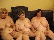 Three busty monster granny