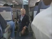 It makes love to the cabin attendant 4(censored -)