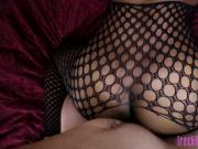 Brandi Sweets Fishnet Fucking