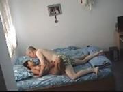 viejo con una joven
