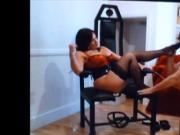 stooge at the feet of Mistress