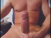 MONSTER MASSIVE UNCUT COCK 12 BY 7 INCH