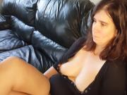 Sexy Chell Nipples Through Shirt Dangle & Foot Tease 075