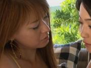 MAI and RYU lesbian kiss