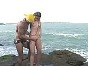 gorgeous latina teen gisele sex on the beach