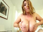 KD Big Tits Sloppy BJ