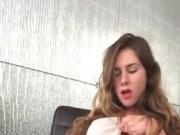 LittleKissMuffin: Horny Teen Rubs One Out