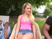 Blonde dped by BBC
