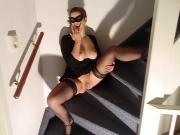 Alysha Fingering - tasting her pussy juice - masturbating