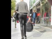 mature tight leather public