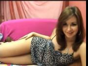 Cute Babe Flirting & Touching Herself