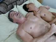 Asian Boy Idol Fucks Daddy Mike