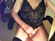 Black Teddy Cum