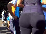 nice big ass in spandex