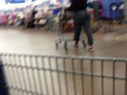 Big Booty at Walmart