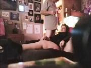 Cunt Christine shows plays with her cunt and gives me a BJ