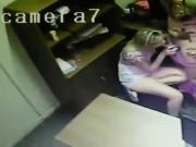 Security camera records couples