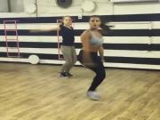 Israeli sexy girl dancing
