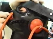 Latex Mask Nose Tubes