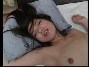 Cute young asian in mesh stockings with perky tits gets fucked in a hotel