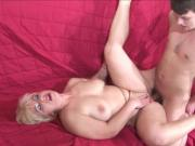 Hot milf and her younger lover 356