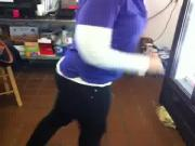 Buttcrack of a hot store worker vine!!!