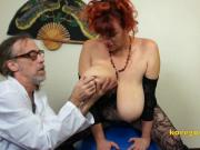 Massive Boob Kore Goddess with her Doctor