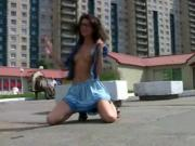 Compilation of Russian Angels Girls in Public