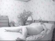 Hidden cam mom dildo play