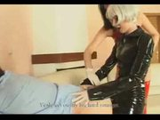 Two FemDom Big Strap-on and Fisting