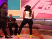 Angela Simmons Dancing
