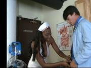 Nyomi looks hot in her nurses outfit
