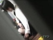 Japanese girl alone at home 27 - not much just epilating - Voyeur hidden spycam