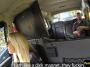 Pussylicked uk cabbie riding passengers dick