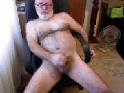Daddy bear jerking off 2