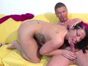 German NOT sister with Big Tits seduce Fuck by Step-Bro