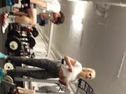 Fitness Teens Squating