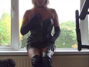 Slut in Leather