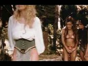 Fantasy lesbian threesome in the forest (feat Jenna)