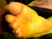 BBW Goddess Soft Soles and All Bare Toe Nails