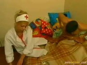 French Blond Nurse Knows How to Treat. Anal
