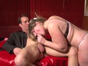 Sexy voluptuous French girl gets the full treatment
