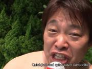 Asian sexy babe blowjob and squirting