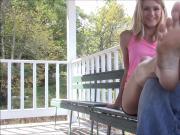 Sarah's Foot Tickle
